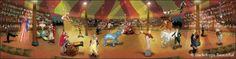 Backdrops: Circus  4 Interior