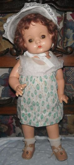 Effanbee Wigged Patsy Ann Composition Doll