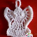 Free crochet angel pattern.