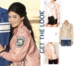 Teen Beach Movie Lela Grace Pink Leather Jacket Teen Beach Movie Fashion: Inside Mack & Lelas 60s Style