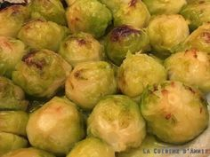 Sprouts, Vegetables, Voici, Food, Cooker Recipes, Button, Veggies, Vegetable Recipes, Brussels Sprouts