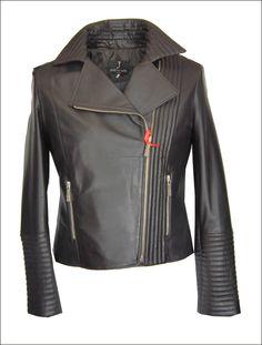 Γυναικείο δερμάτινο μπουφάν ελαστικό Μοντέλο  Perfecto Leather Jacket PE933  Δέρμα  brown nappa Τιμή  c9ab598124d