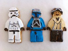 LEGO Man Biscuits - HowToCookThat : Best Birthday Cakes Desserts Parties Gingerbread Houses & Cake Pops