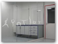 Frosted window film safety decals for New Zealand and Australia