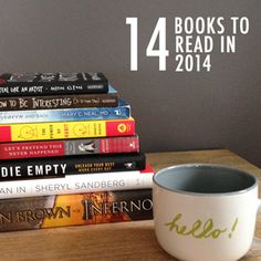 14 Books to Read in 2014 - Some very interesting sounding non-fiction. I could use more of this...