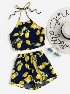 US Stock Summer 2PCS Kids Baby Girls Vest Tops Shirt+Shorts Pants Clothes Outfit - 18-24 MTHS