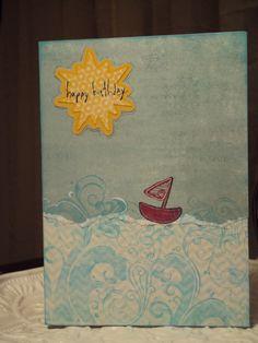Handmade card - Jan Reckers