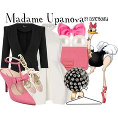 """Madame Upanova"" by leslieakay on Polyvore"