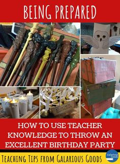 How to Use Teacher Knowledge to Throw an Excellent Birthday Party. Explore how teacher skills helped me throw an amazing Harry Potter birthday party for my son and his friends. Classroom Organisation, Classroom Management, Teaching Strategies, Teaching Resources, Handwriting Recognition, Science Equipment, Call And Response, Effective Learning, Report Writing