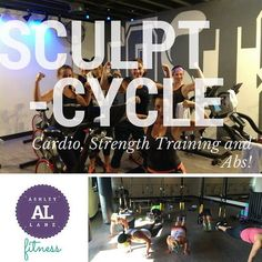It's not to late to sign up for Sculpt Cycle tonight @ 5:30! #ashleylanefitness with @katgunsursmith