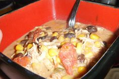 Out Of The Box Into The Kitchen: Creamy Chicken Stew