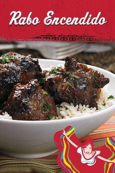 "Nothing says ""pure comfort"" like Rumba Meats oxtails y vegetales slow-simmered in a savory tomato-based stew. Oxtail Recipes, Meat Recipes, Mexican Food Recipes, Cooking Recipes, Cuban Dishes, Beef Dishes, Food Dishes, Comida Latina, Caribbean Recipes"