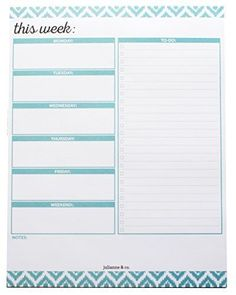 To-Do-List-and-Weekly-Planner-Notepad-Teal