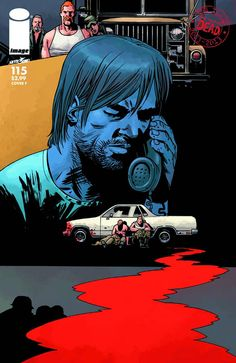 The Walking Dead - Ten year anniversary cover Walking Dead Comics, Walking Dead Comic Book, The Walking Dead 2, Comic Book Covers, Comic Books Art, Twd Comics, Zombie Life, George Romero, Dead Images