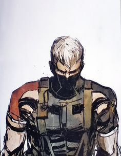 Home of the Foxhound Combo Meal - Metal Gear Solid: Portable Ops by Ashley Wood
