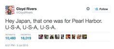 Japan - It's A Wonderful Rife: Ignorant Tweets After U.S. Defeats Japan At World ...