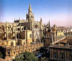 ARCHITECT, SpanishExterior viewbegun 1402PhotoCathedral of Santa María, Seville