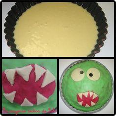 """Le gâteau """"Gloups"""" de Lolo est bien aussi un gâteau """"Grand monstre vert"""" !"""