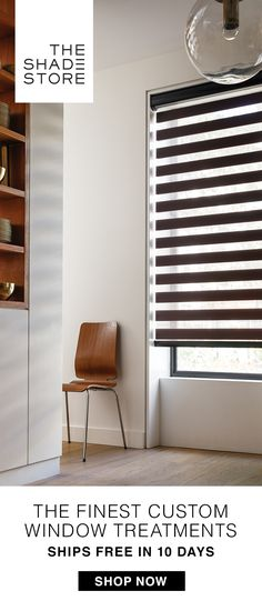 Handcrafted in the USA, The Shade Store® provides the finest custom shades, blinds & drapery - in 10 days or less! Check out our NEW showrooms in your neighborhood (50+ nationwide and growing), or you can always shop online & by phone. Free swatches and free professional measurements make the ordering process a breeze. We call it: custom made simple.®