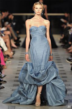 Zac Posen 2012  AND I want my shoulders to be so defined...beautiful