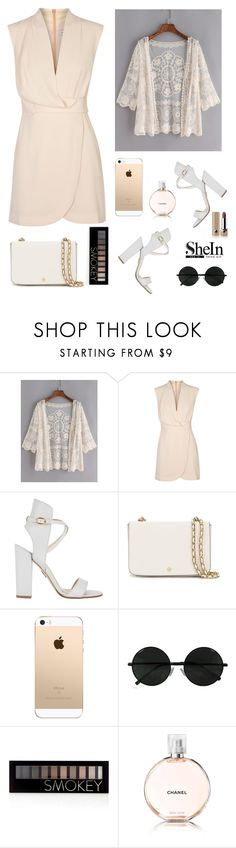 """""""Shein"""" by adiisaa ❤ liked on Polyvore featuring Finders Keepers, Paul Andrew, Tory Burch, Forever 21, Chanel and Marc Jacobs"""