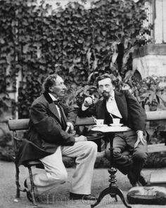 Carl Bloch and Hans Christian Andersen.
