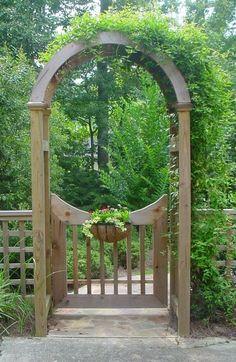 Arbor Gates Garden Gate Amp Pergola Fine Homebuilding