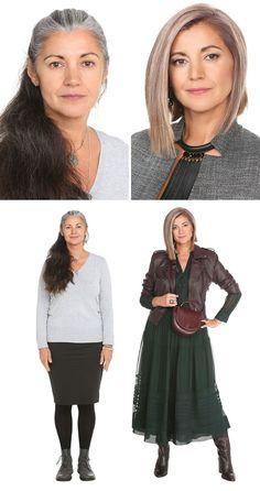 Mature Fashion, Fashion Over 50, Girl Fashion, Fashion Show, How To Become Beautiful, Designer Image, Beauty Makeover, Magazine Mode, Corte Y Color