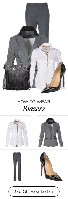 """""""Untitled #11080"""" by nanette-253 on Polyvore featuring moda i Christian Louboutin"""