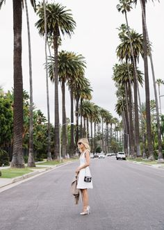Damsel in Dior | Palm Trees & Spring