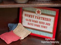 Classic Cowboy Boy Farm Horse Riding Birthday Party Planning Ideas