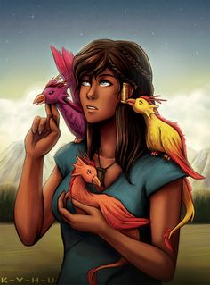 The fact that I understand and appreciate this is a little sad,but whatevs; still awesome. Fire Ferret : Korralesli; Mother of the dragon bird.