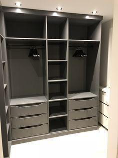 Wardrobe Design Bedroom, Master Bedroom Closet, Bedroom Furniture Design, Bedroom Wardrobe, Wardrobe Closet, Preppy Wardrobe, Closet Renovation, Closet Remodel, Bedroom Cupboard Designs