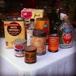 Antique products! #vintage #old #fleamarket #MelroseTradingPost