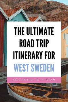 Best things to see and do on a 7 Day West Sweden Road Trip. See Gothenburg, stay in unique accommodations and enjoy the beautiful nature. Things To Do, Good Things, Top Place, Bucket List Destinations, Sweden Travel, Gothenburg, Travel Inspiration, Travel Tips, Road Trip