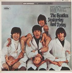 The Beatles: Rare album once owned by John Lennon to be auctioned Valuable Vinyl Records, Rare Vinyl Records, The Beatles Yesterday, Yesterday And Today, Les Beatles, John Lennon Beatles, Ringo Starr, George Harrison, Paul Mccartney
