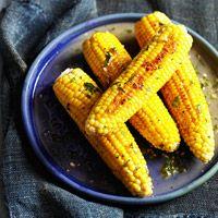 Pan Seared Corn on the Cob