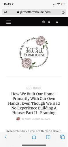 How we were able to save over $30,000 by framing our own home Even though we had absolutely zero framing experience! Building Plans, Building A House, Build Your Own House, Kit Homes, Farmhouse Design, Zero, Teaching, Frame, Picture Frame