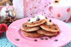 Low Carb Rezepte von Happy Carb: Spekulatius-Pancakes mit Zimt-Mandelcreme - Da weihnachtet es schon am frühen Morgen.