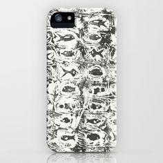 Pattern of the Sea iPhone Case by Rachel Winkelman - $35.00