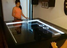 DIY Mechanical PONG Table: Mag Hockey