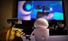 Cute Portraits of WALL-E the Robot by Meddy Garnet