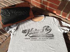 t-shirt printing by Aaron von Freter, via Behance