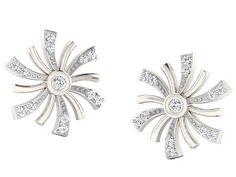 c1c0837de His & Her Diamonds .925 Sterling Silver and Diamond Stud Earrings Diamond  Stud, Women's