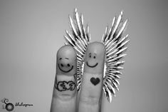 finger people  mine is yours