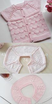 Knitting For Kids Baby Knitting Patterns Baby Patterns Stitch Patterns Layette Baby Items Crochet Baby Baby Booties Baby Sweaters Baby Knitting Patterns, Knitting For Kids, Easy Knitting, Knitting Stitches, Baby Patterns, Double Knitting, Knitting Needles, Knitted Baby Cardigan, Knitted Baby Clothes
