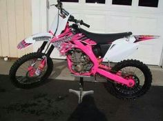 For my future daughter.....but absolutely NO pink. Don't need some girly colored shit. Make it Yamaha blue or Kawasaki green or KTM orange please!