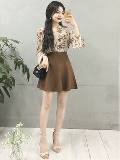 Korean fashion (feminine&classy look) . Korean Fashion Ulzzang, Korean Fashion Street Casual, Korean Fashion Dress, Korean Fashion Summer, Korean Fashion Men, Korea Fashion, Korean Outfits, Asian Fashion, Girl Fashion