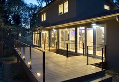 modern deck | Lighting ideas for outdoor gardens, terraces and porches
