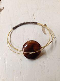 Guitar string & bead bracelet on Etsy, $8.50 SOLD